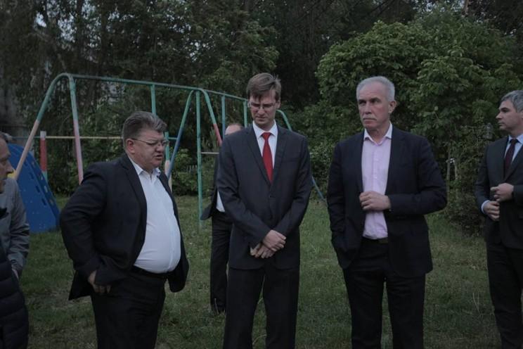 Сергей Морозов, Вадим Андреев, Сергей Гигирев