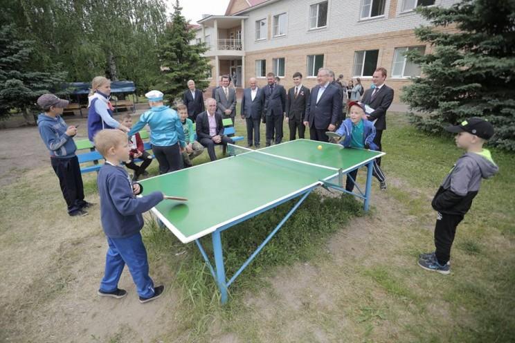 Сергей Морозов посетил детский оздоровительный лагерь «Волжанка» - 1