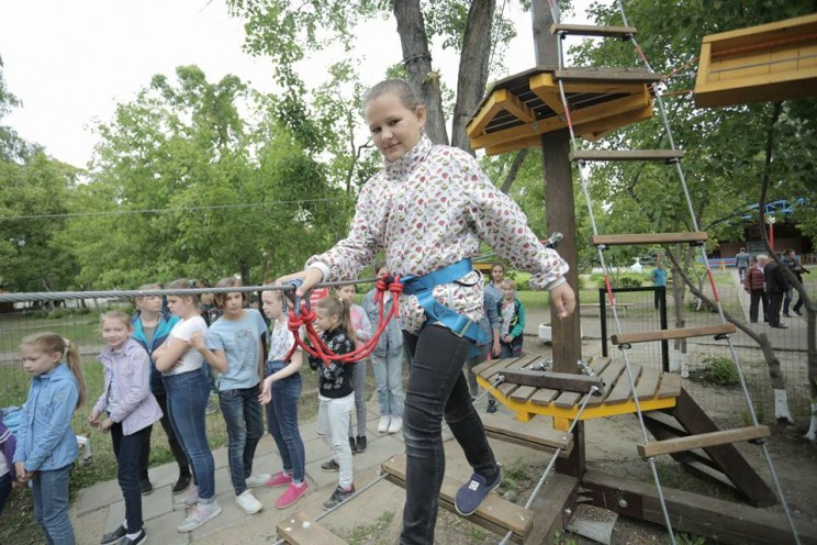 Сергей Морозов посетил детский оздоровительный лагерь «Волжанка» - 4