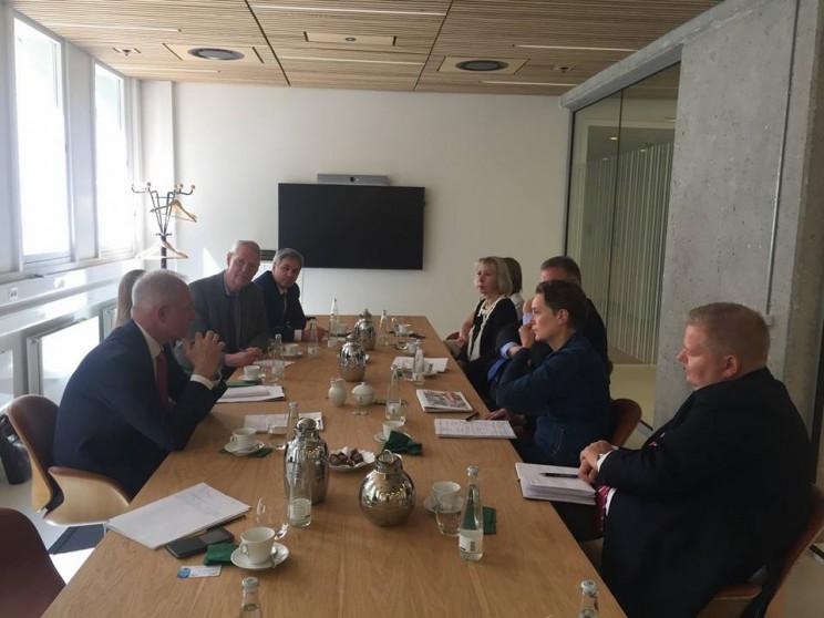 Сергей Морозов рассказал о переговорах с послом Королевства в России Томасом Винклером и представителями министерства экономики Дании, 8 июня 2018 - 1