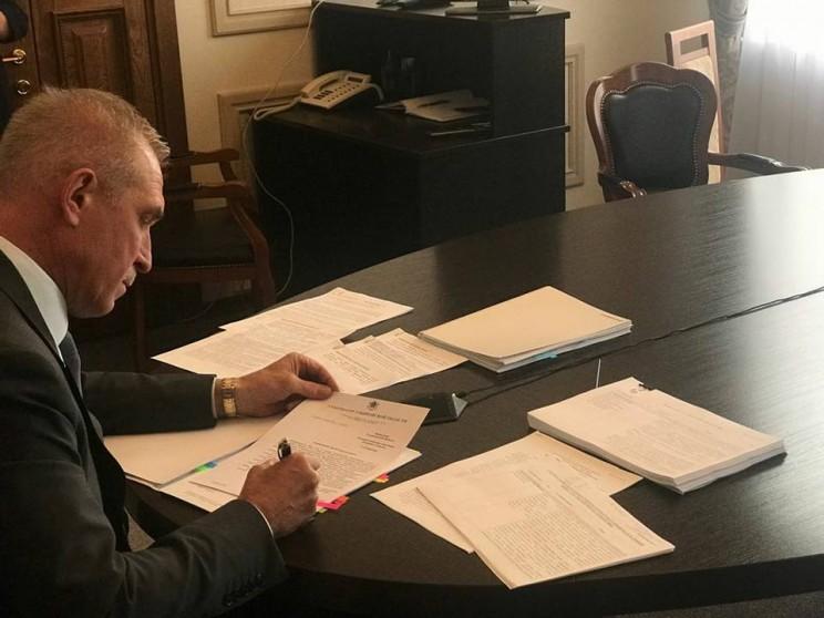 Сергей Морозов во время прямой линии Владимира Путина - 2018, 7 июня 2018 - 3