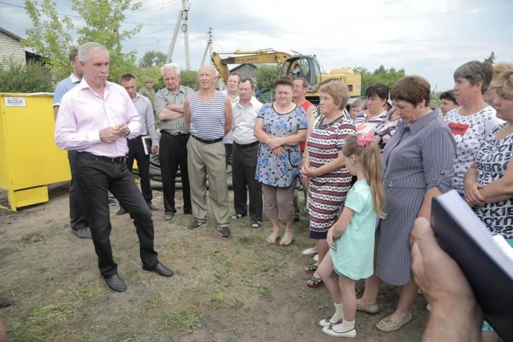 В Кузоватовской районе Ульяновской области ведутся работы по строительству внутрипоселковых газопроводов - 3