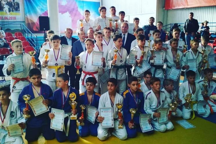 В Ульяновске прошел открытый турнир по дзюдо
