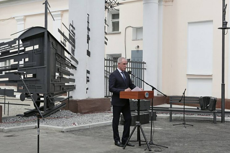 В Ульяновской области открыли памятный знак «Дороги Великой Победы» - 5