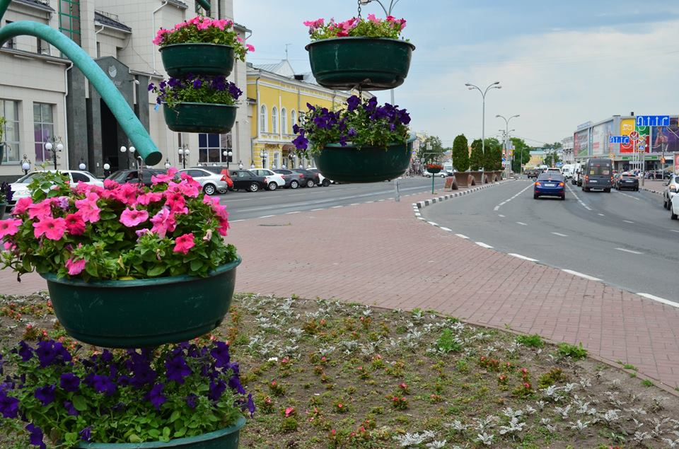 Ярослава Евдокимова: «В городе много цветов»