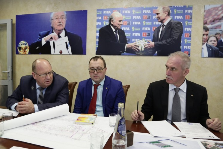 Валерий Лазарев, Сергей Кузьмин, Сергей Морозов
