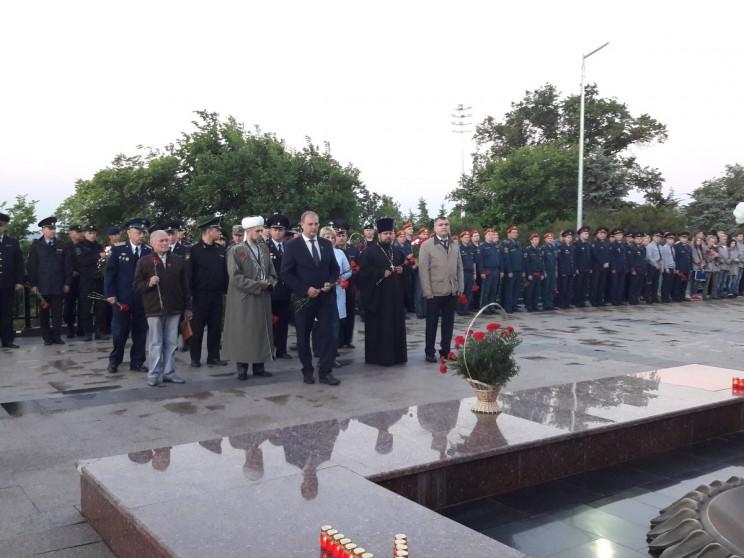 Жители Ульяновской области приняли участие в митинге, посвящённом 77-ой годовщине со дня начала Великой Отечественной войны