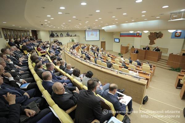 Законодательное собрание Ульяновской области, отчет губернатора 30 мая 2018 года