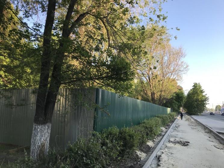 стройка за памятником жертвам Чернобыля в Ульяновске - 2
