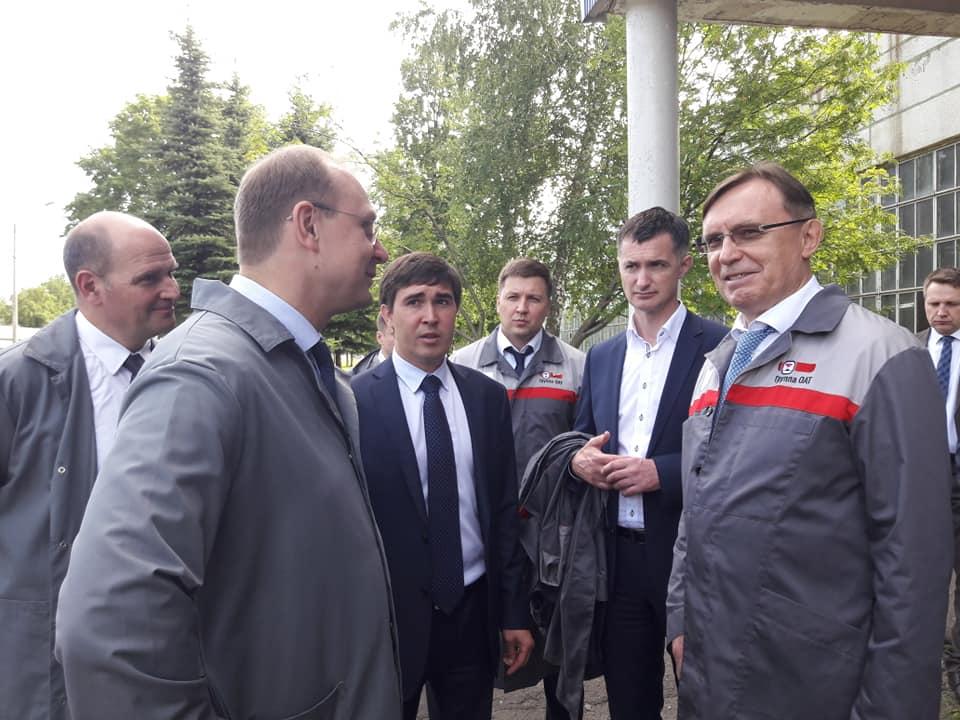 Димитровград посетил генеральный директор ПАО «КАМАЗ» Сергей Когогин