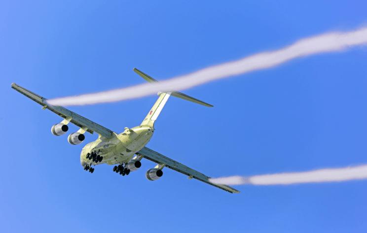 Первый топливозаправщик Ил-78М-90А начнет летные испытания в августе