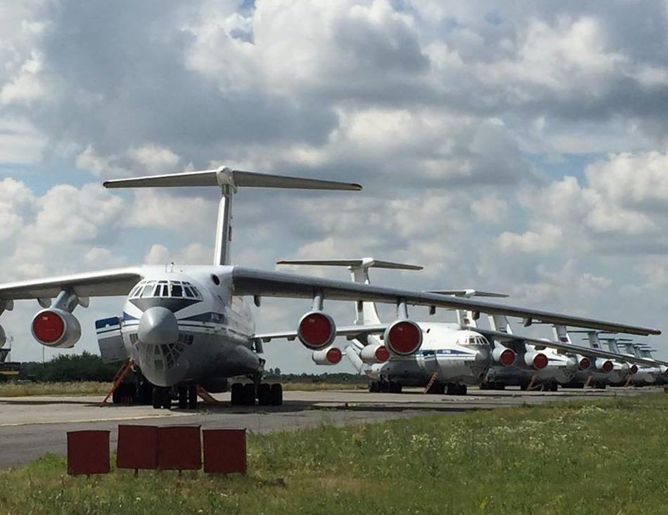 На учениях в центральной России подняли в воздух более 50 самолетов