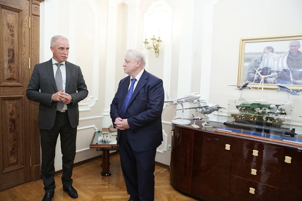 Ульяновск посетил Сергей Миронов