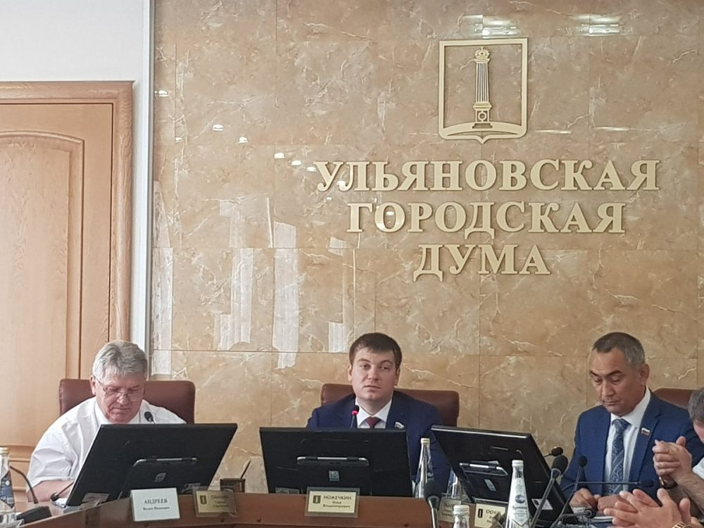 Ульяновскую городскую думу возглавил 29-летний Илья Ножечкин