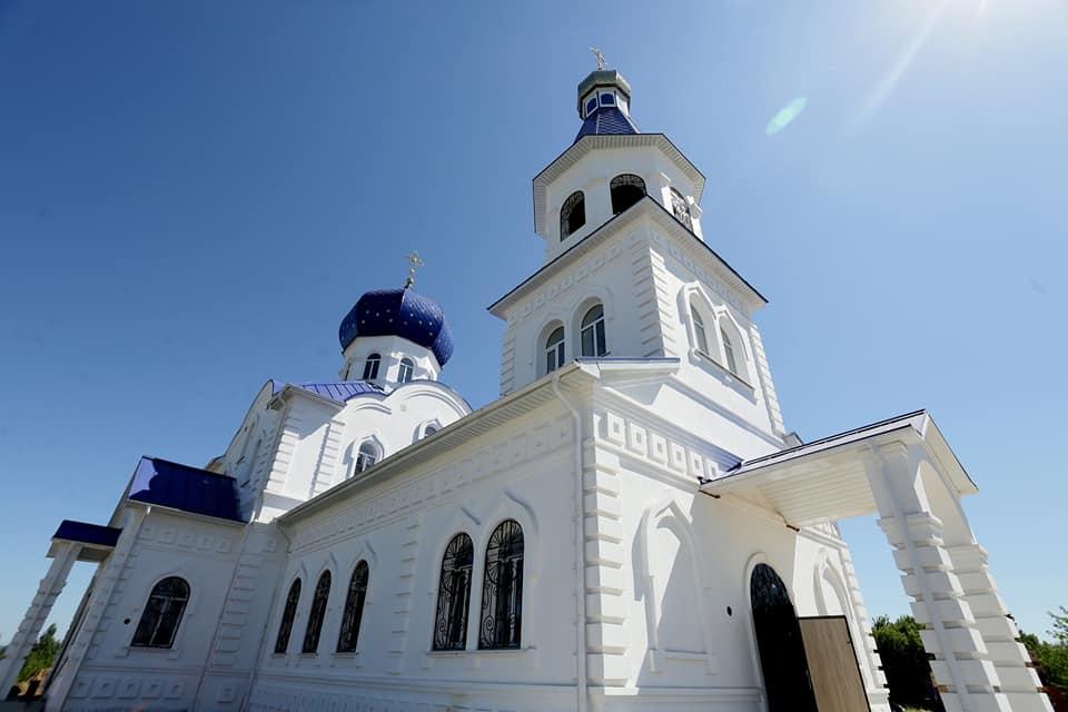В Инзе продолжается строительство кафедрального городского собора