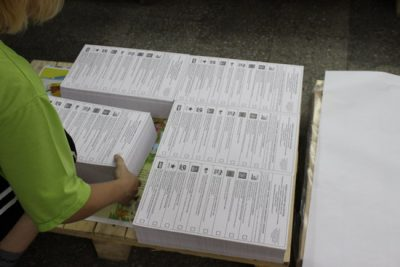 Пачка избирательных бюллетеней пропала в Ульяновской области