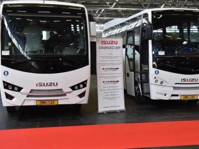 Ульяновский «Симаз» приступил к испытаниям автобусов на шасси Isuzu на городских маршрутах