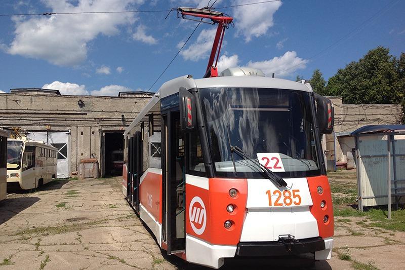 В Ульяновск приехали низкопольные трамваи