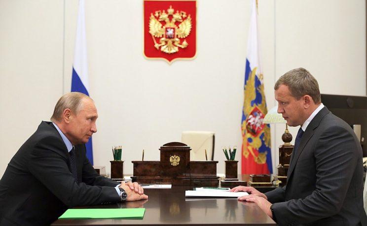 Владимир Путин назначил Сергея Морозова и.о. губернатора Астраханской области
