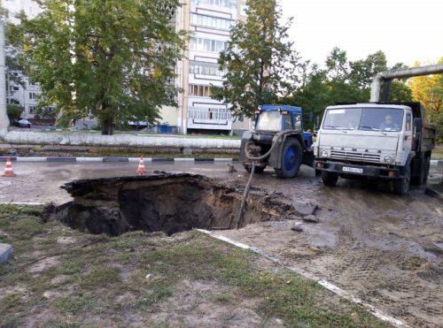В Ульяновске несколько домов остались без холодной воды