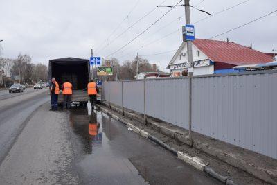 В Ульяновске обустроили 25 остановок общественного транспорта