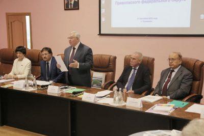В Ульяновске прошло заседание Совета ректоров вузов Приволжского федерального округа