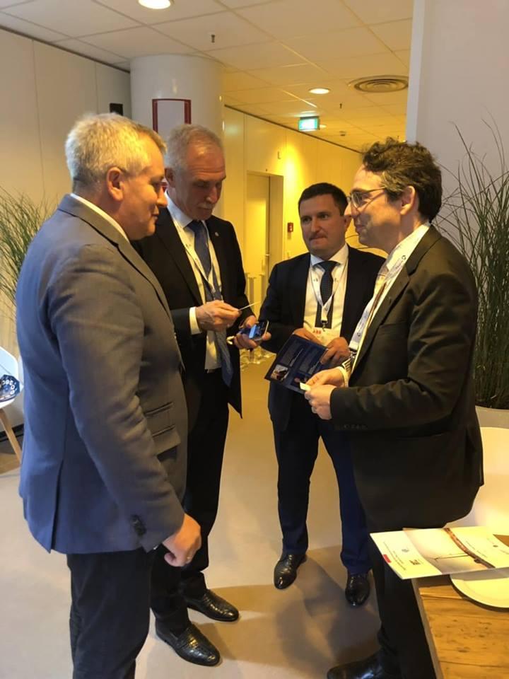 Губернатор Ульяновской области находится в Гамбурге на форуме «Wind energy 2018»