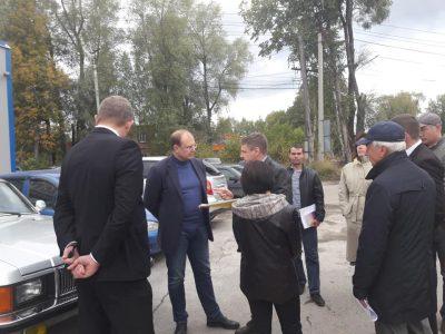 Дорога на улице Промышленной в Димитровграде должна быть сдана до 15 октября