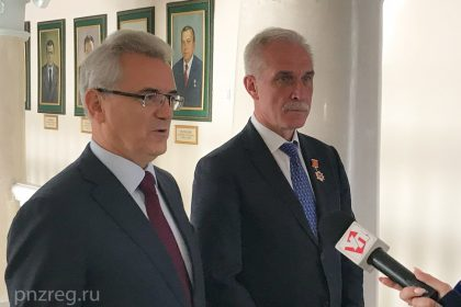 Губернатор Пензенской области поздравил гвардейское танковое училище Ульяновска со 100-летием