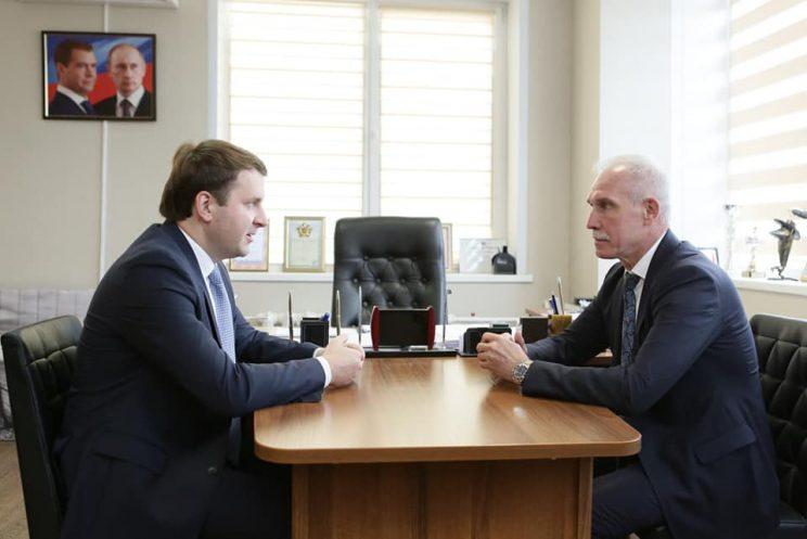 Максим Орешкин посетил Ульяновск