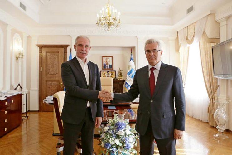 Губернатор Пензенской области Иван Белозерцев посетил с рабочим визитом Ульяновск