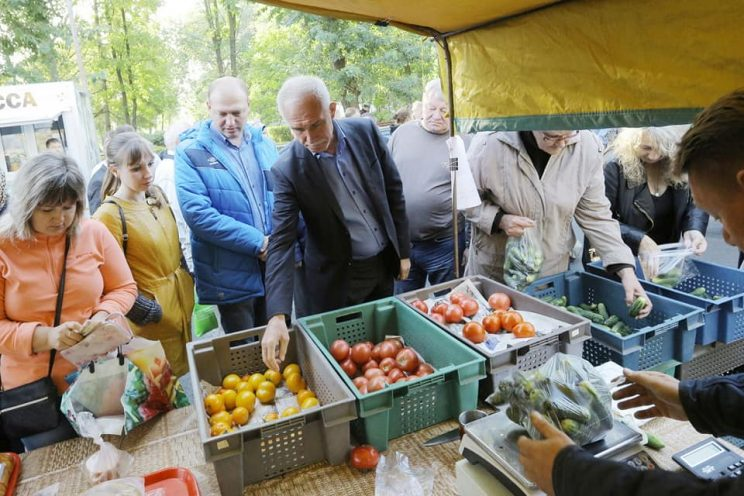 В Железнодорожном районе Ульяновска − ярмарка