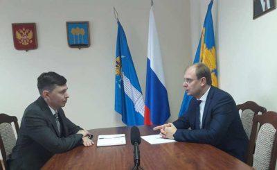 Александр Смекалин и Алексей Гадальшин обсудили повестку Димитровграда