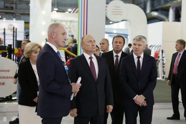 Владимир Путин очень хорошо осведомлён о состоянии промышленности Ульяновской области
