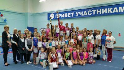 В Ульяновске выбрали лучших спортивных гимнасток