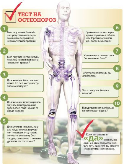 Ульяновцам расскажут о профилактике остеопороза