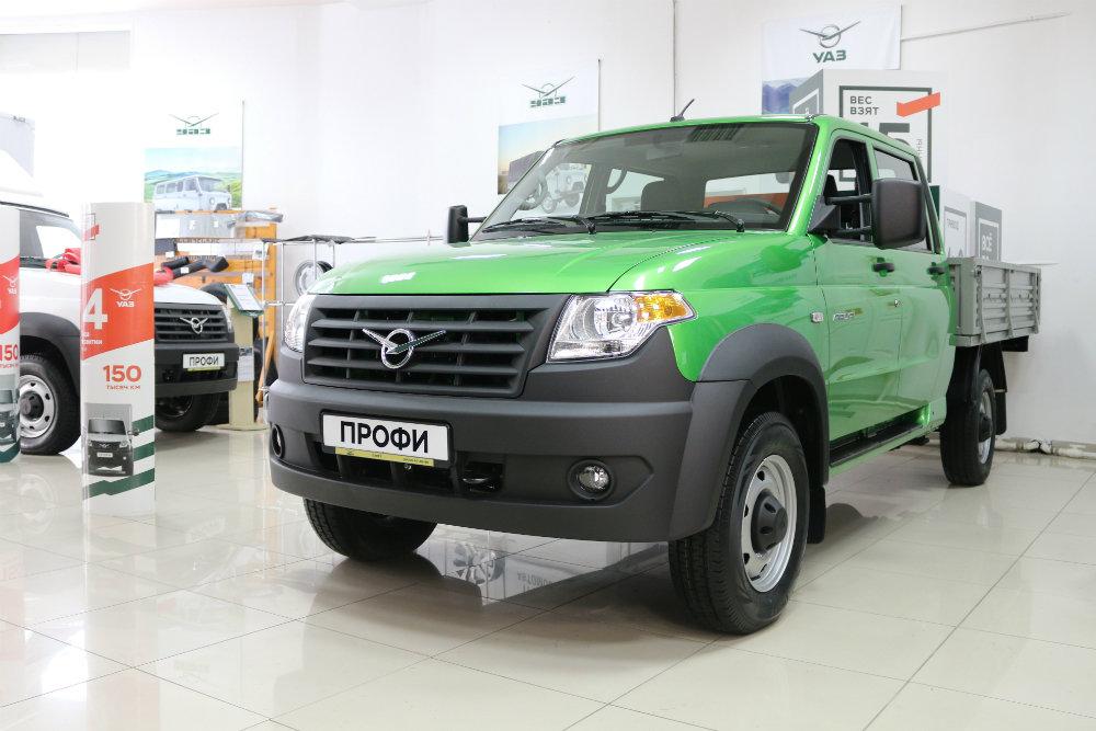 УАЗ представил улучшенный грузовой автомобиль УАЗ «Профи»