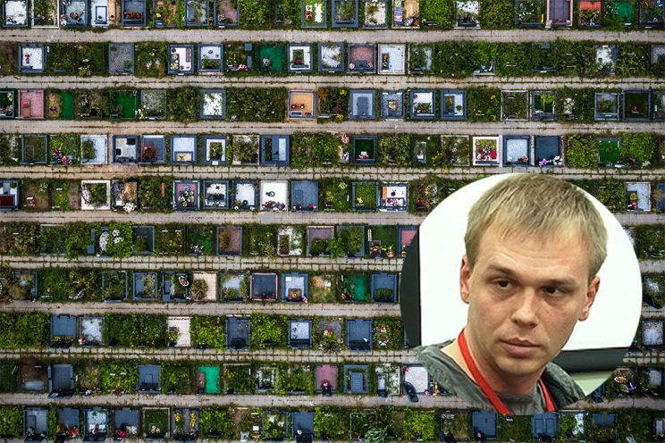 Иван Голунов: «Кто владеет московскими кладбищами»